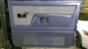 81-92 Dodge Ramcharger Passenger Right Front Interior Door Trim Panel (Blue)
