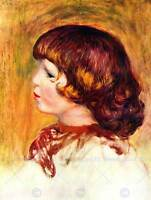 PIERRE AUGUSTE RENOIR COCO OLD MASTER ART PAINTING PRINT POSTER 2395OMB