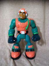 """6"""" Rescue Heroes Action Figure, Green/Orange, Helmet"""
