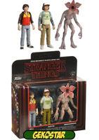 Stranger Things ReAction Action Figure 3-Pack Dustin, Will & Demogorgon
