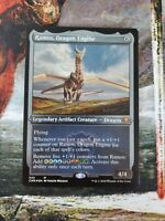 MTG Ramos, Dragon Engine Etched Foil Commander Legends Magic the Gathering NM