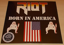 RIOT-BORN IN AMERICA-2015 180G VINYL LP-LIMITED TO 300-NEW & SEALED