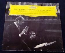 Bartok  Piano Concertos Nos.1 / Rhapsody Fricsay Geza Anda   DGG 138 708 lp EX