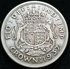 United Kingdom England 1 Crown 1937 50.0% Silver