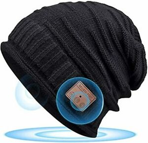 HANPURE Mens Stocking Fillers Bluetooth Beanie Hat - Santa Gifts for Men & Women