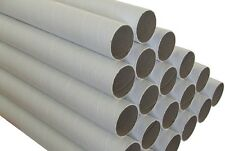 50 x Cardboard Mailing Tubes 60 x 1.5 x 660mm includes end caps BULK BUY Tube