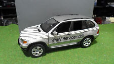 BMW X5 3.0d SERVICE MOBIL 1/18 KYOSHO 80430305646 voiture miniature d collection