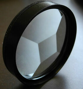 58mm Multi Multiple Image Multivision 5F Special Effect Filter