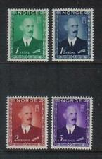 Norway 1946 King Haakon VII high value definitives (275-78) MH