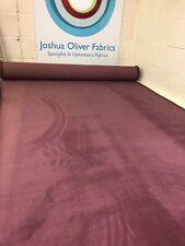 Mulberry Gracelands Plain Soft Velvet Upholstery Fabric, Free P+P