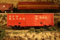 N Scale Rapodo 200 Made in Western Germany Redish Brown Box Car New Haven NH 982