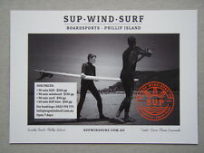 Sup Wind Surf Boardsports Phillip Island Supwindsurf Advert Postcard