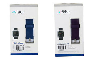 Fitbit Blaze Classic Accessory Water Resistant Band w/Stainless Steel Clasp NIB