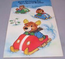 Get along Gang vintage Christmas Greeting card Brother - 1985 American Greetings