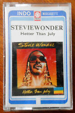 Stevie Wonder Hotter Than July Cassette Made in Indonesia 013