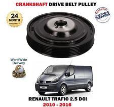 FOR RENAULT TRAFIC 2.5 DCI 115 145 2010--> NEW CRANKSHAFT BELT DRIVE PULLEY
