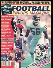 Football Pin-Ups Magazine 1987 Larence Taylor EX No ML 012717jhe