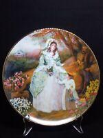 Portraits of American Brides Elizabeth by Rob Sauber #3 Porcelain Plate 1935E