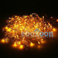 40/80/100/200 LED String Fairy Lights Xmas Wedding Party Garden Decor Waterproof