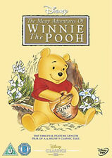 The Many Adventures of Winnie The Pooh Disney DVD R2