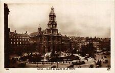 CPA Paris 9e - Place et Eglise de la Trinite (273328)