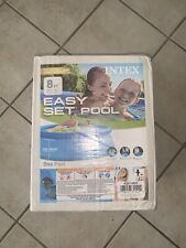 New listing Intex 8ft x 30in Easy Set Inflatable Above Ground Family Swimming Pool (No Pump)