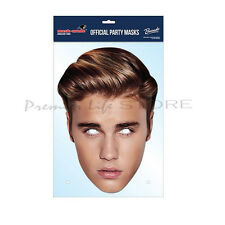 Justin Bieber Official Celebrity Face Mask