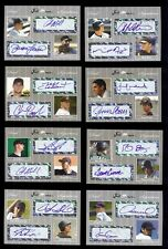 24) Mixed 2007 JUST MINORS Certified & Individually #d Dual Autograph x/25 LOT 2