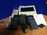 Casio OH-10 Overhead Projection Unit w/ EA-100 Analyzer And RM-9850ga
