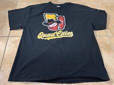 Quad Cities River Bandits Minor League Baseball Shirt 2XL XXL Houston Astros