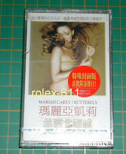 Mariah Carey Butterfly LTD 1997 Version Taiwan only Cover Cassette Sealed