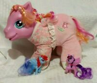My Little Pony Baby Alive Plush Giggle Sound with bonus miniature ponies 2003