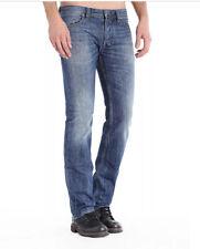 $198 Diesel Men's Safado Regular Slim Straight Jeans 0UB89 Size 30X34