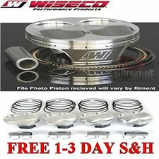 Wiseco Pistons for Mazda Speed 3 Dished -13.3cc 9.5:1 Piston Shelf Stock Kit