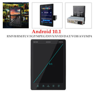 """9.5""""1080P HD BT MP5 Player Car Stereo Touch Screen GPS Navi For Android 10.1"""