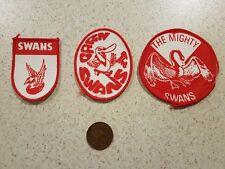 Sydney swans south Melbourne bloods patch badge crest footy football AFL VFL