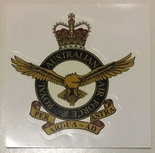 RAAF Royal Australian Airforce Crest Badge transparent sticker
