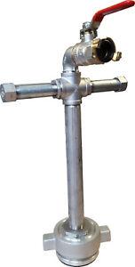 Standrohr Hydrant Mini Fuß DN80 Unterflurhydrant GK-Anschluss