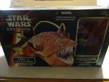 Star Wars Episode 1 Opee and Qui Gon Jinn w/Snapping Jaws Set