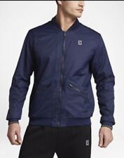 NikeCourt Spring Court Varsity Jacket Two Way Zip Binary Blue Small