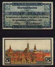 [16056]  - Notgeld HIRSCHBERG/Jelenia Góra, Stadt, 5 Mk, -31.12.1918, Geiger 237