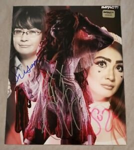 SU YUNG * SUZIE * SUSAN Autographed IMPACT Wrestling 8x10 Photo w/ Hologram NEW