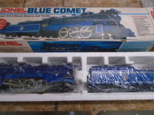 LIONEL #8801 DIE CAST 4-6-4 BLUE COMET STEAM LOCO & TENDER In Box