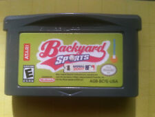 NES NINTENDO GAMEBOY ADVANCE BACKYARD  SPORTS   COLOR DS
