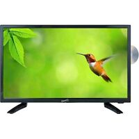 Supersonic 19-Inch LED Widescreen HDTV w/ Remote, HDMI, Built-In DVD, AC/DC