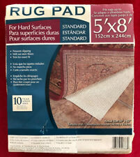 New Rug Pad Liner Deluxe Non-Slip Pad Fits Rug Up To 5'x8' Cut To Fit (#B-3013)