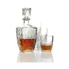Bourbon Whiskey Decanter Glass Set Glasses Bar Scotch Liquor Alcohol Gift 7pcs