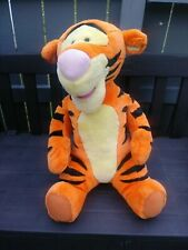 "MATTEL DISNEY LARGE 30"" PLUSH TALKING TIGGER DOLL WINNIE THE POOH- Tested"