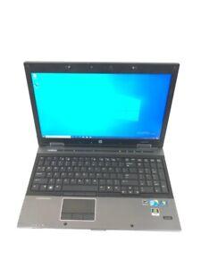 "HP EliteBook 8540w 15.6"" Core i7 640M 2.80GHz 8GB RAM 256GB SSD Win 10 Pro"