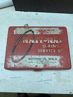 Vintage NATIONAL OIL SEALS O-RING SERVICE KIT. NOS